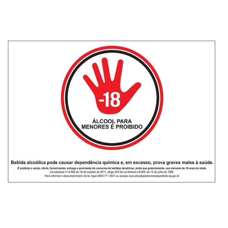 codigo-aflaa-placa-sinalizacao-estado-sao-paulo-lei-14592-proibido-vender-alcool-para-menores